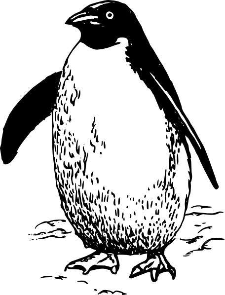 free vector Penguin clip art