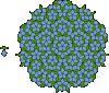free vector Penrose Tiling clip art