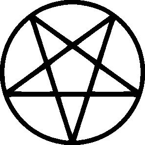 free vector Pentagram Bold clip art