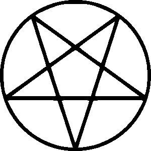 free vector Pentagram clip art