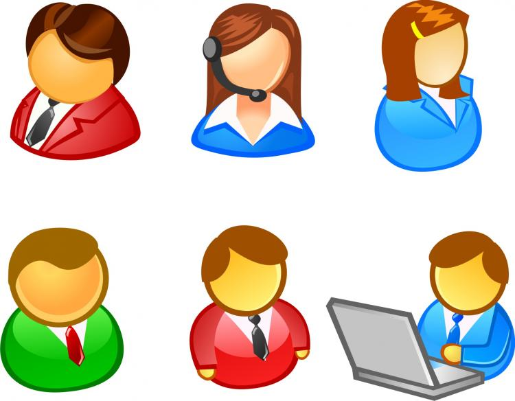 free vector People user icon vector
