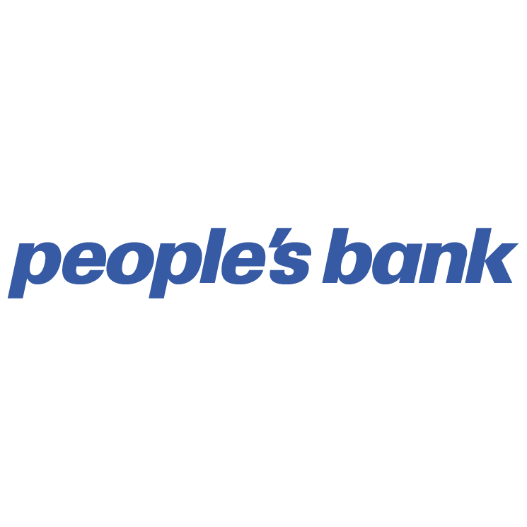 free vector Peoples bank