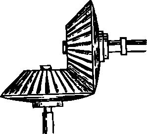 free vector Perpendicular Gears clip art
