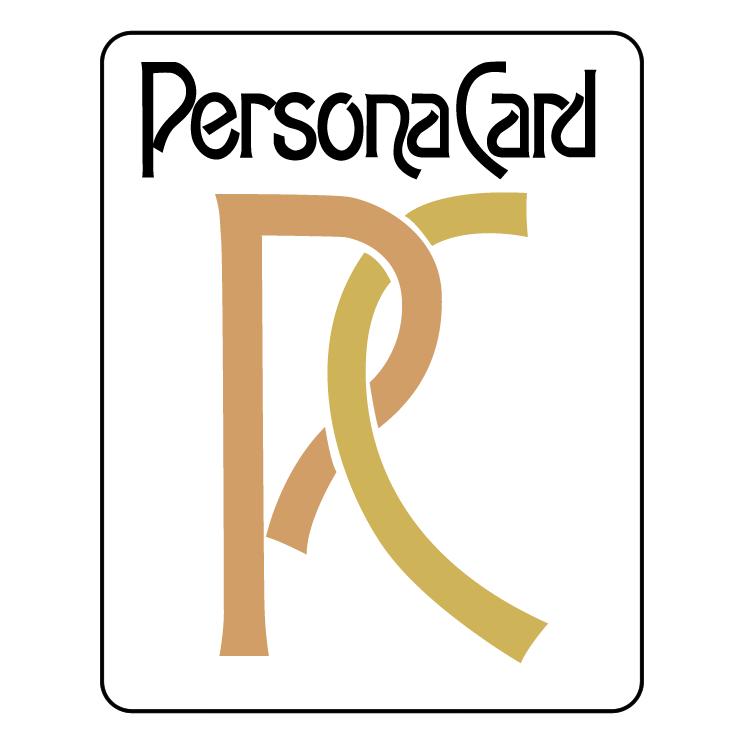 free vector Persona card