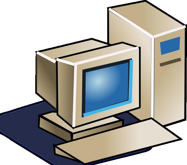 free vector Personal Computer clip art