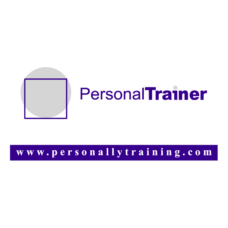 free vector Personal trainer