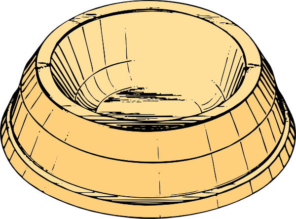 clipart dog bowl - photo #34