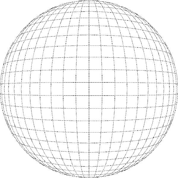 free vector Peterwilson Geometric Grid Of Latitude And Longitude clip art