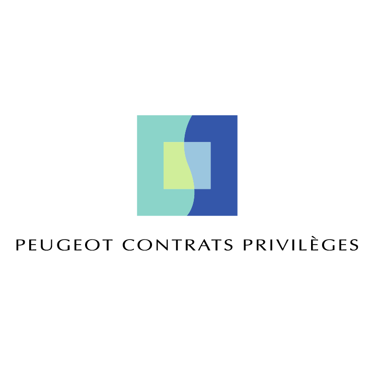 free vector Peugeot contrats privileges