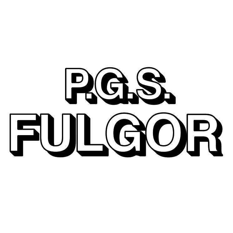 free vector Pgs fulgor marchio