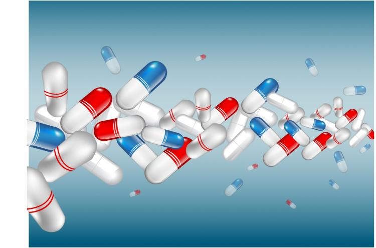free vector Pharmaceutical background.