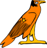 free vector Pharoa Eagle clip art