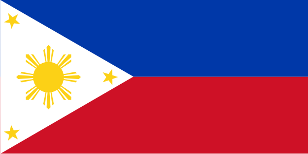 free vector Philippines Flag clip art