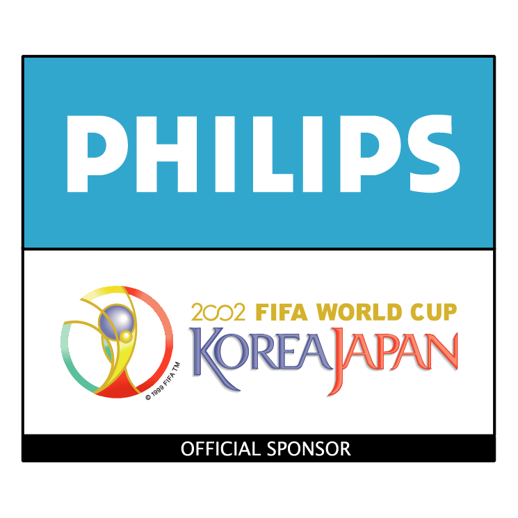 free vector Philips 2002 fifa world cup