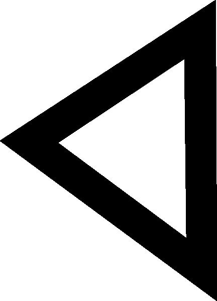 free vector Phoenician Daleth clip art