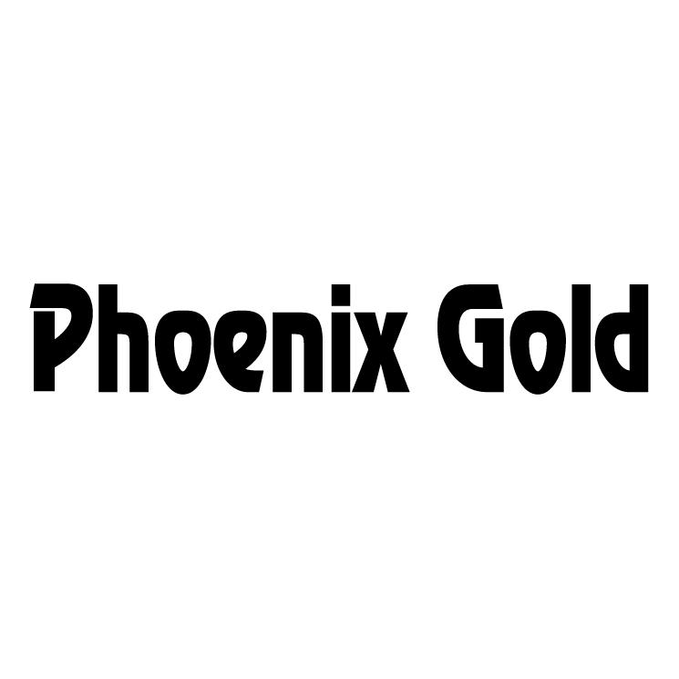 free vector Phoenix gold