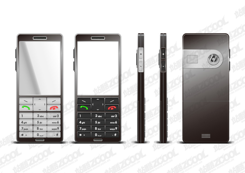 free vector Phone vector material