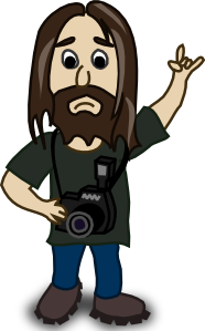 free vector Photographer  clip art