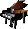 free vector Piano clip art