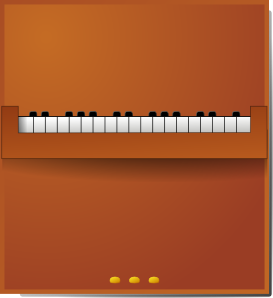 free vector Piano clip art