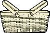 free vector Picnic Basket clip art