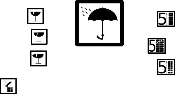 free vector Pictograms Symbols clip art