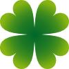 free vector Pierig Four Leaf Clover clip art