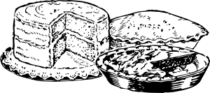 free vector Pies And Cake clip art