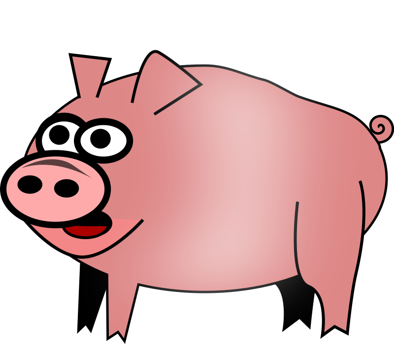 free vector Pig