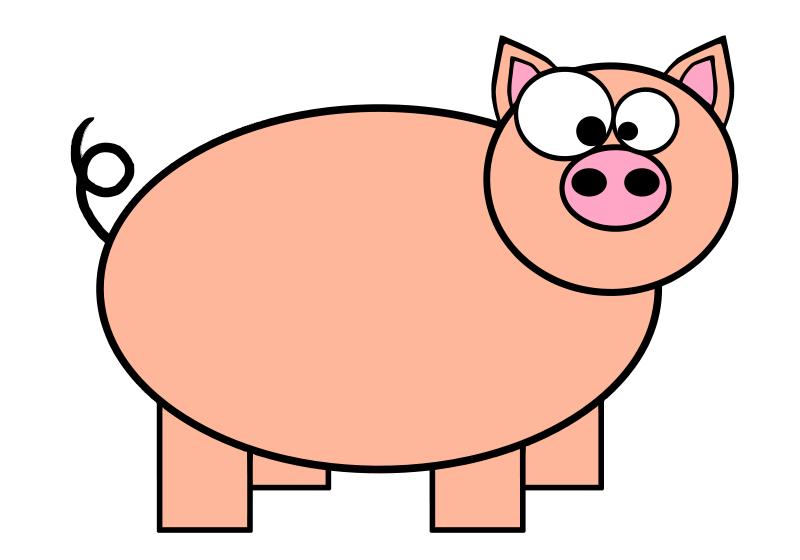 free vector Piggie