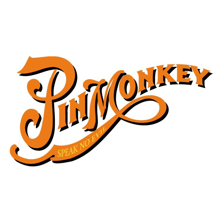 free vector Pin monkey