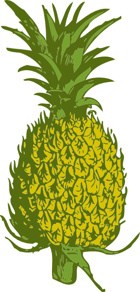 pineapple clip art free vector 4vector rh 4vector com pineapple clip art images free pineapple clipart images