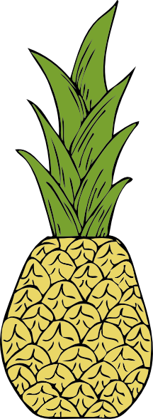 free vector Pineapple clip art