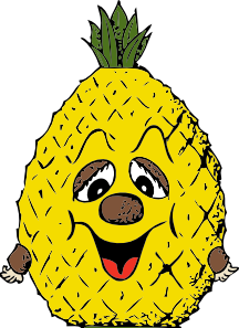 free vector Pineapple Head clip art