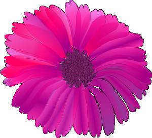 free vector Pink Flower clip art