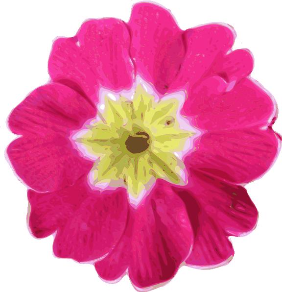 Pink flower clip art free vector 4vector free vector pink flower clip art mightylinksfo