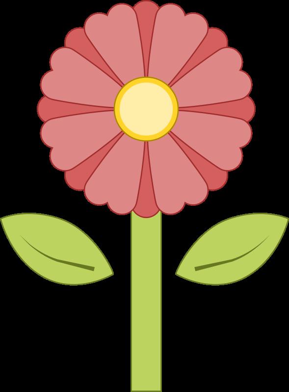 free vector Pink Flower