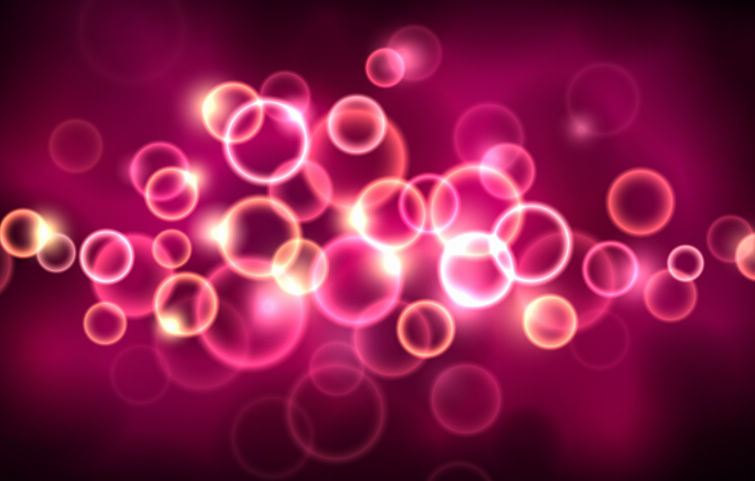 free vector Pink Growing Light Vector Background