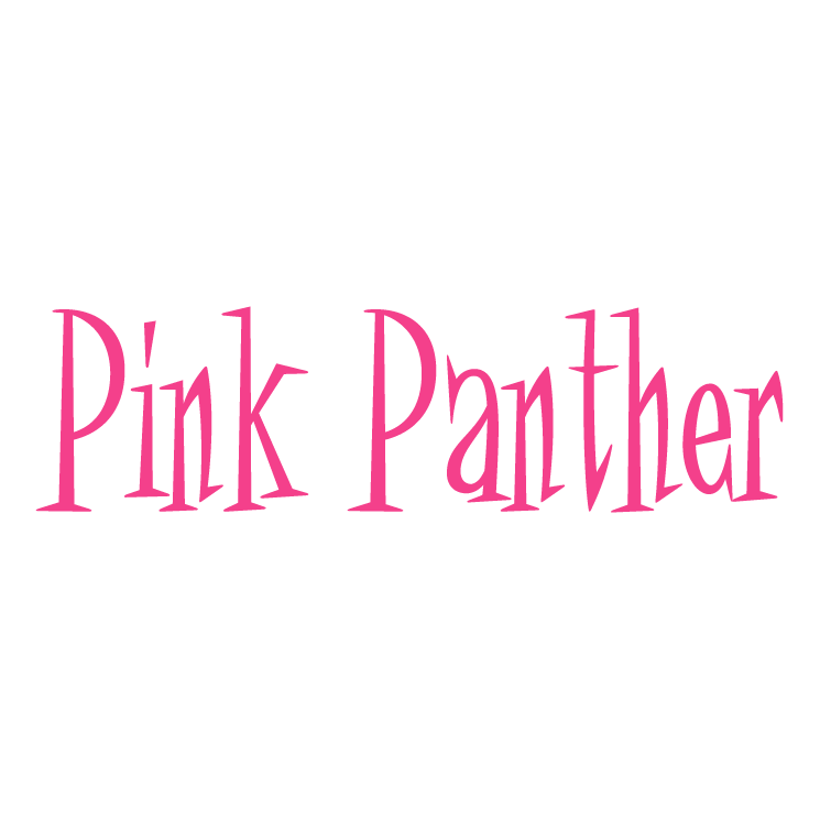 Pink panther Free Vector / 4Vector