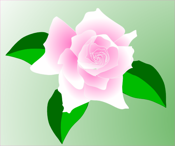 free vector Pink-rose clip art