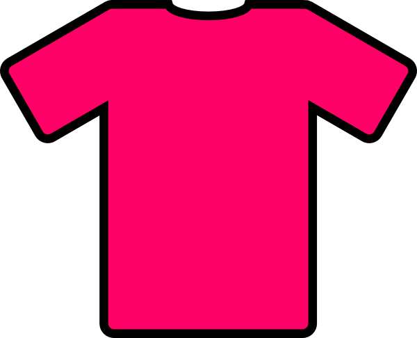 pink t shirt clip art free vector 4vector rh 4vector com shirt clip art free shirts clipart black and white