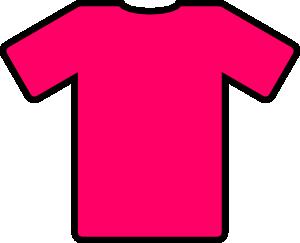 free vector Pink T Shirt clip art
