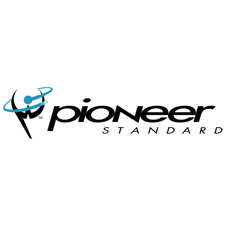 free vector Pioneer standard electronics