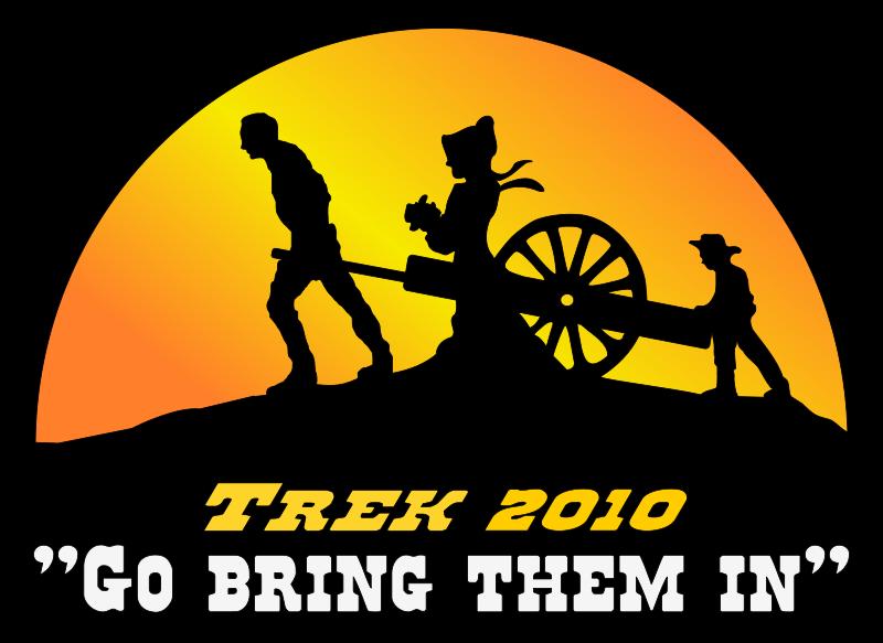 free vector Pioneer Trek Logo Color