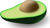 free vector Pipo Avocado clip art