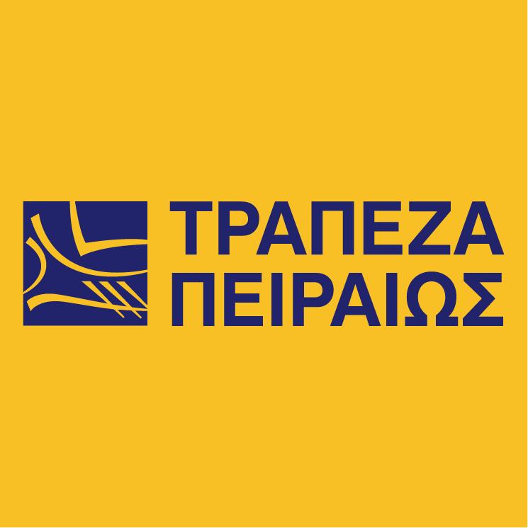 free vector Piraeus bank 0