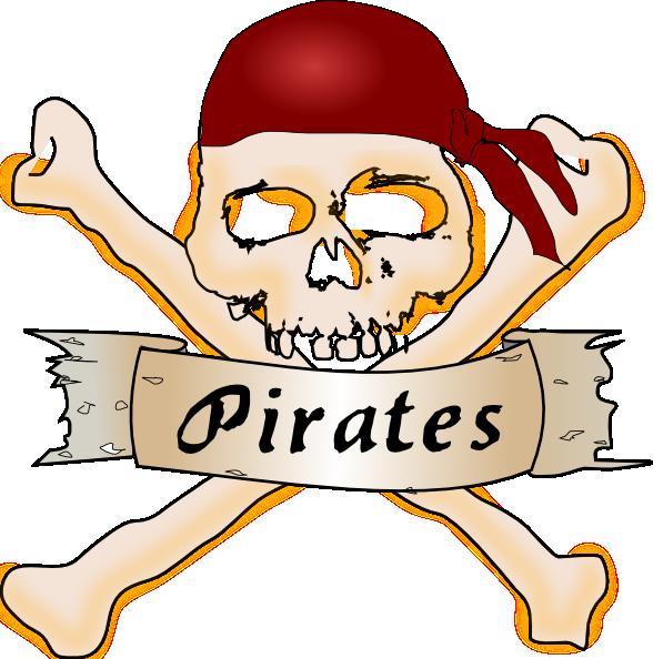 pirate skull clip art free vector 4vector rh 4vector com Pirate Flag Clip Art Pirate Ship Clip Art