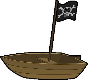 free vector Pirats Boat clip art