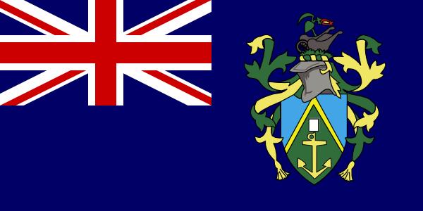 free vector Pitcairn Islands clip art