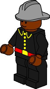 free vector Pitr Lego Town Fireman clip art